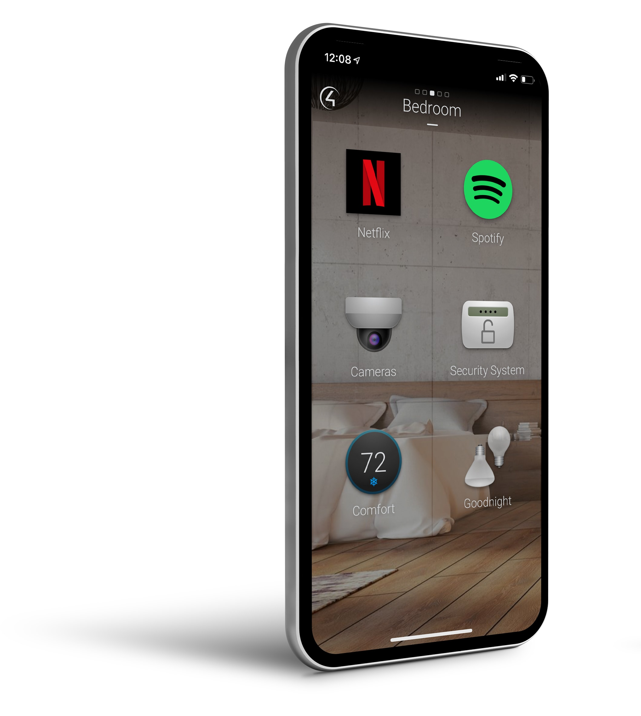 Control your smart home from your phone - at home or away