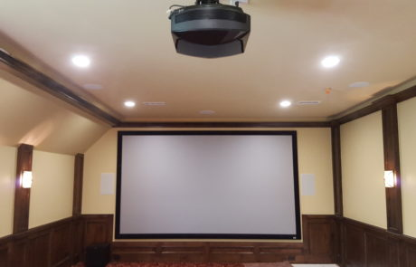 Projector for Custom Home Theater
