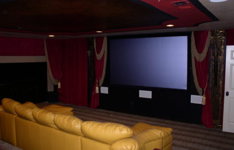 Fancy Home Theater Design in Houston